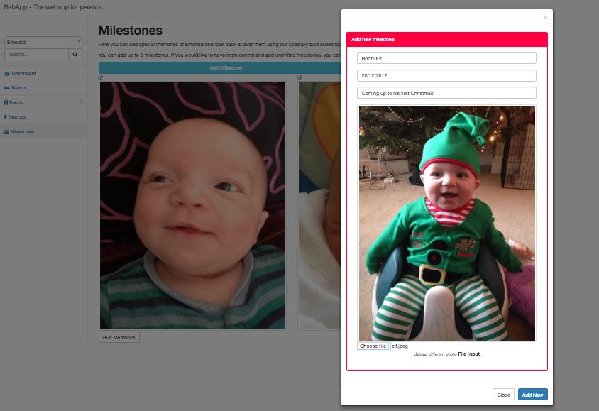 Capture your babies milestones with wootzoo
